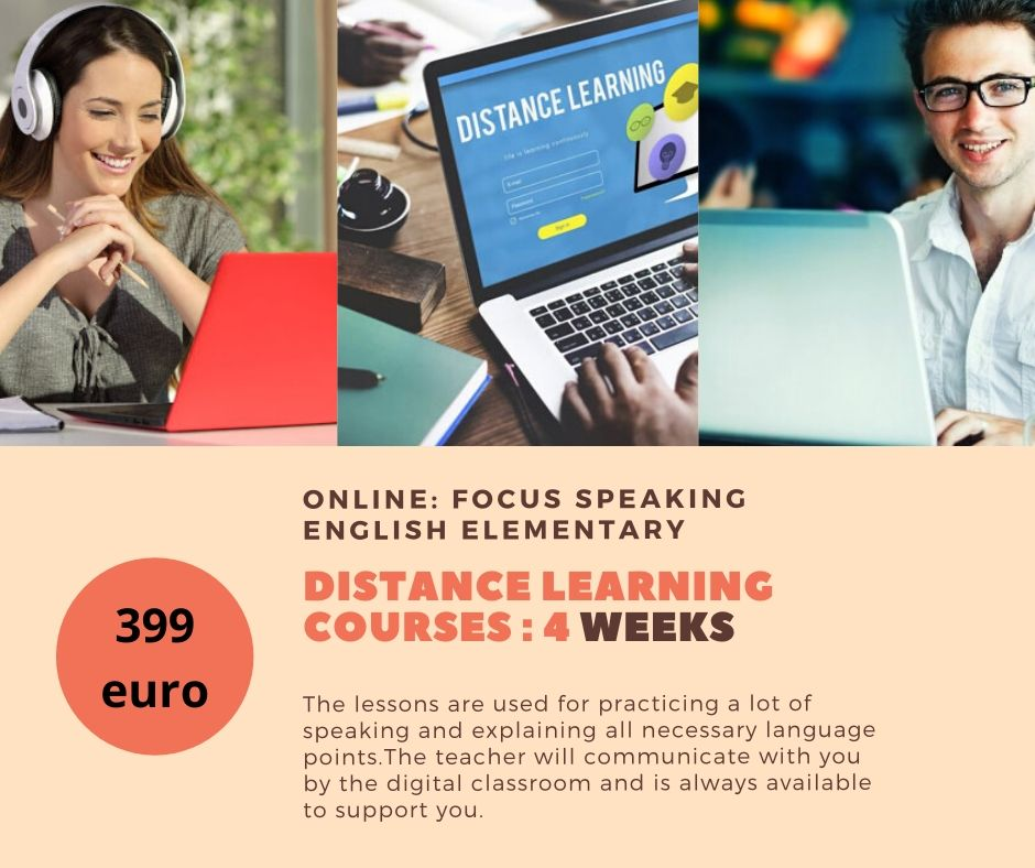online English course Leider Englis school